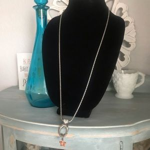 Brighton Long Add A Charm Necklace & Charm